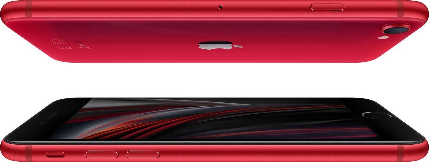 смартфон apple iphone se 2020 128gb red уцененный товар (№2)