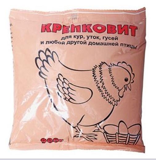 Кормовая добавка ВАШЕ ХОЗЯЙСТВО Крепковит для кур, уток, гусей, 900 г  #1