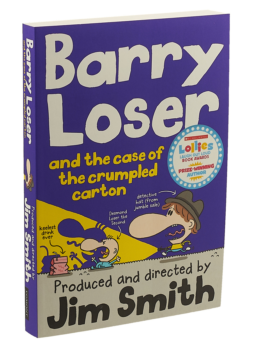 Barry Loser and the Case of the Crumpled Carton   Смит Джим #1