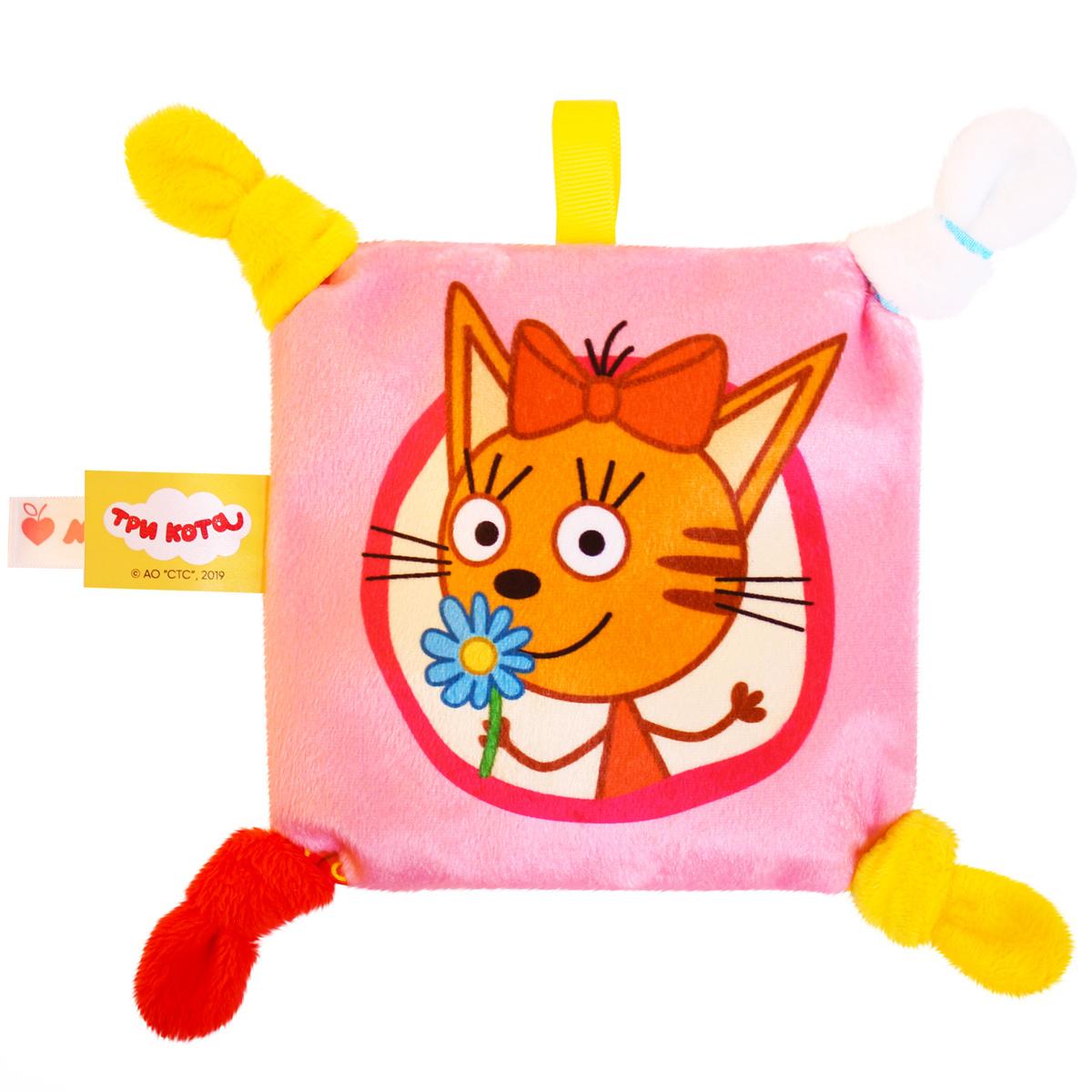 Игрушка грелка с вишневыми косточками Три кота, Карамелька №2, Мякиши  #1