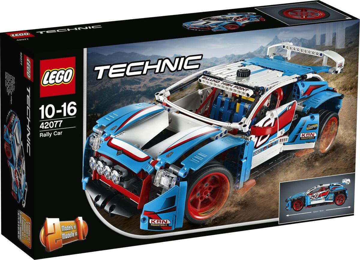 Конструктор LEGO Technic 42077 Гоночный автомобиль #1