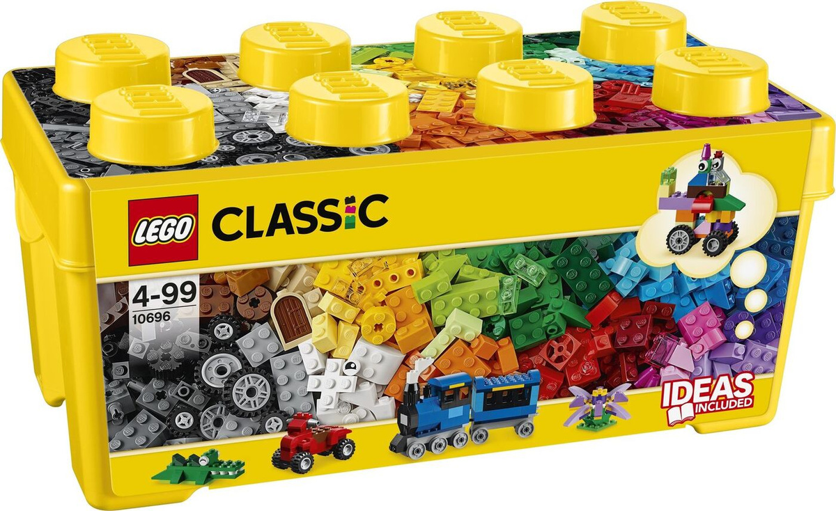 Конструктор LEGO Classic 10696 Набор для творчества среднего размера  #1