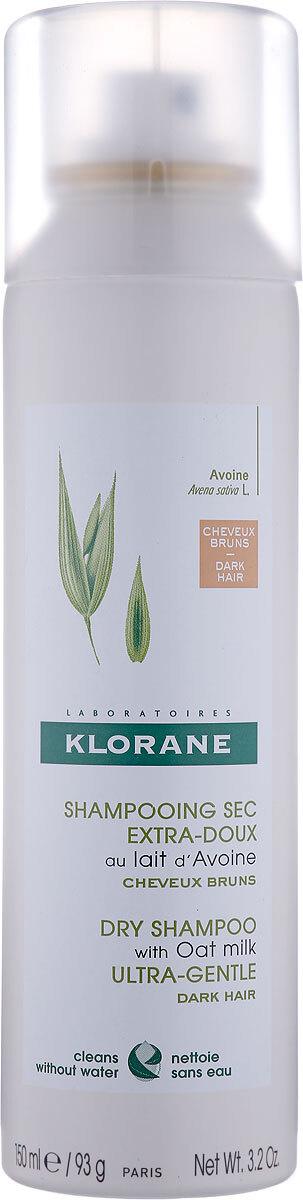 Klorane Ultra Gentle Сухой шампунь, тонированный, с молочком овса, спрей, 150 мл  #1