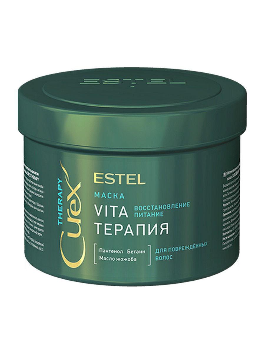 CUREX THERAPY Vita-терапия Маска для повреждённых волос, 500 мл #1