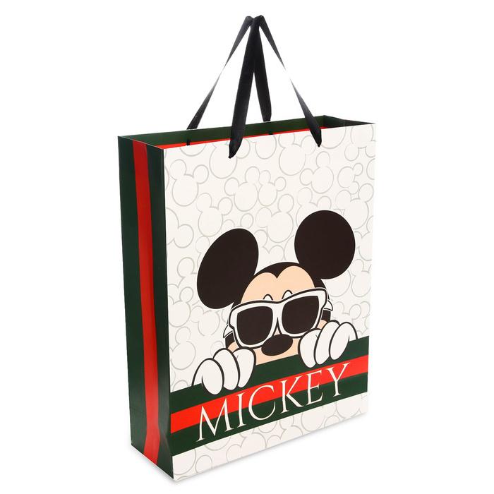Пакет подарочный Disney Mickey, Микки Маус, 31х40х11 см #1