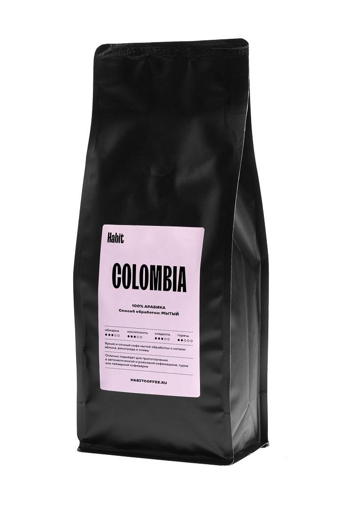 Кофе Колумбия в зернах 500 гр (Кундинамарка) 100% арабика #1