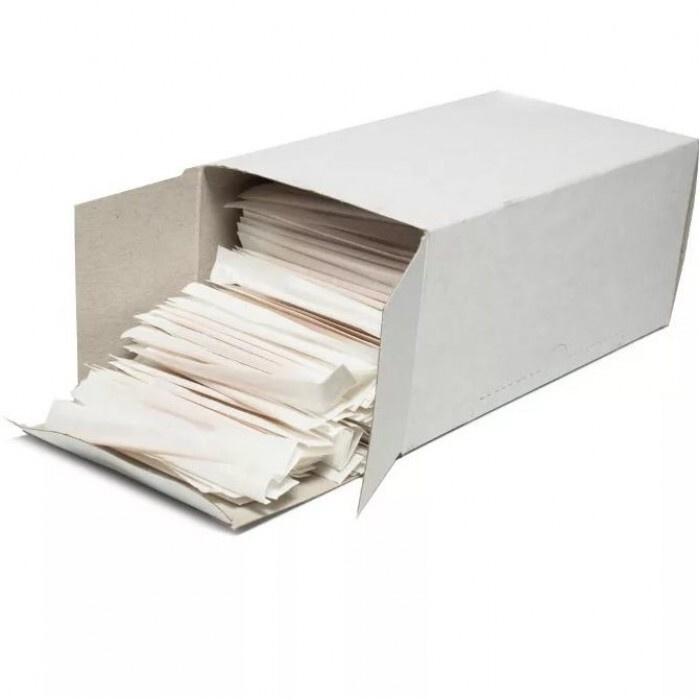 Зубочистки в индивидуальной упаковке, дерево, в комплекте 1000 штук  #1
