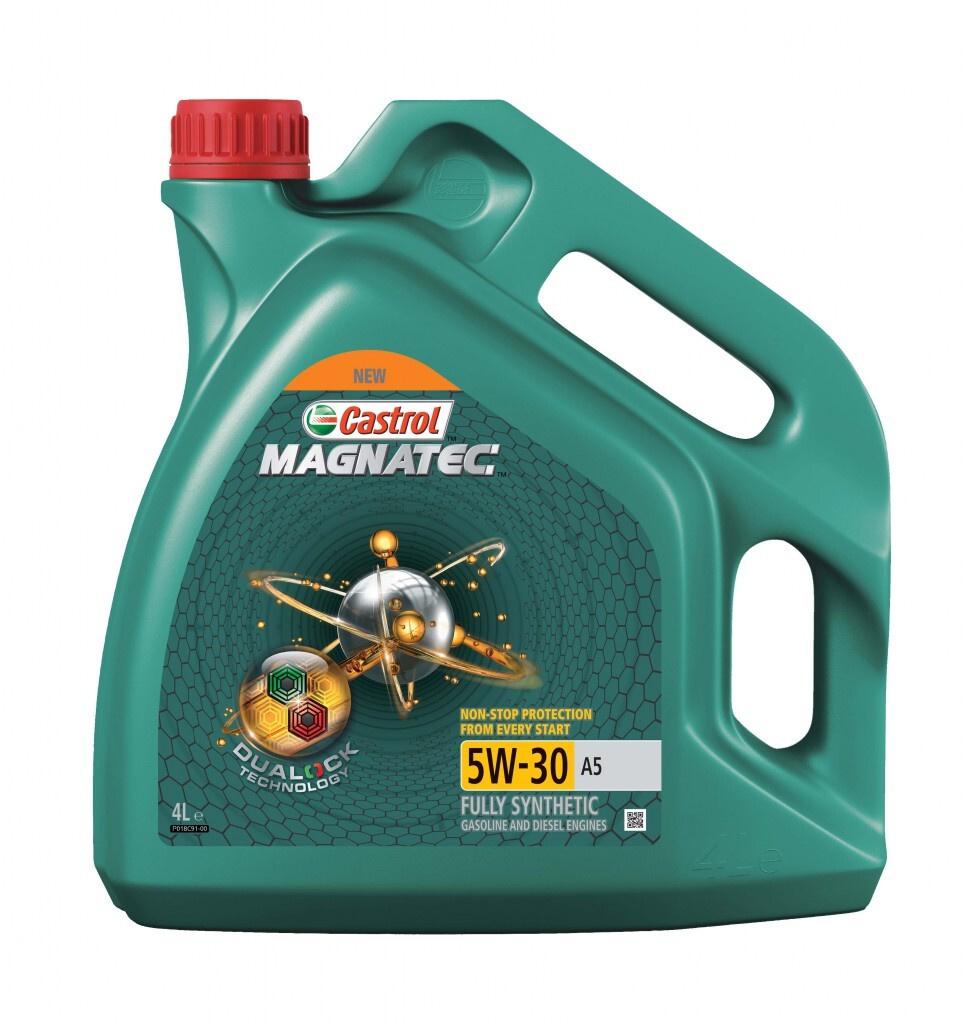 Моторное масло Castrol MAGNATEC DUALOCK A5 5W-30 Синтетическое 4 л #1
