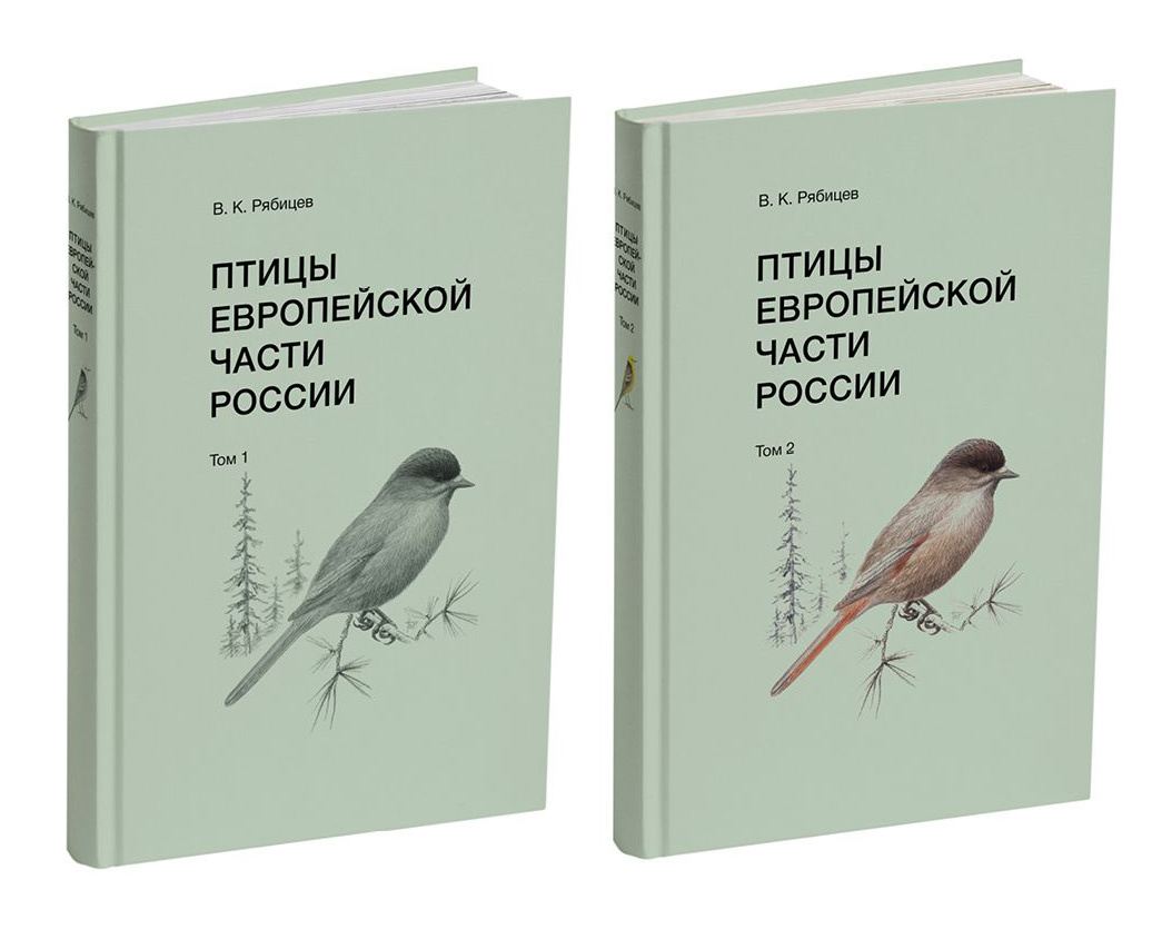 Птицы Европейской части России. В 2 томах #1