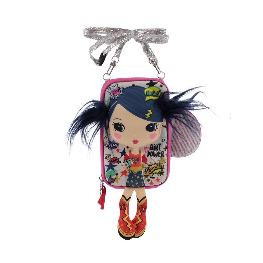 Сумочка-куколка для девочки Okiedog Tiny Treasures Меломанка, 17 см  #1