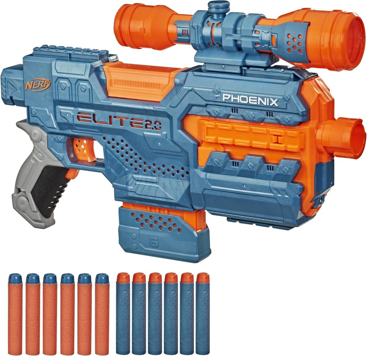 Игрушечное оружие Nerf Бластер E2.0 Феникс, E9961EU4 #1