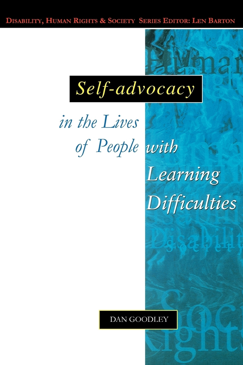 Self-Advocacy in the Lives of People with Learning Difficulties #1