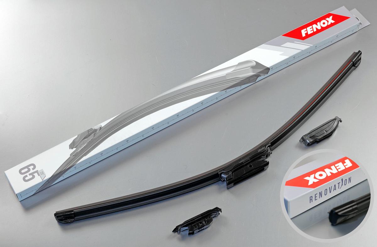 """Щетки стеклоочистителя Lada X-RAY, Renault Kaptur, Duster, 650 мм, (26""""), 1 шт, FENOX WB65220  #1"""