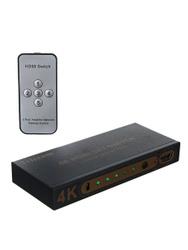 HDMI переключатель Telecom 5 на 1, с пультом управления, 4K@ 30Hz  (TTS7105). Переключатели