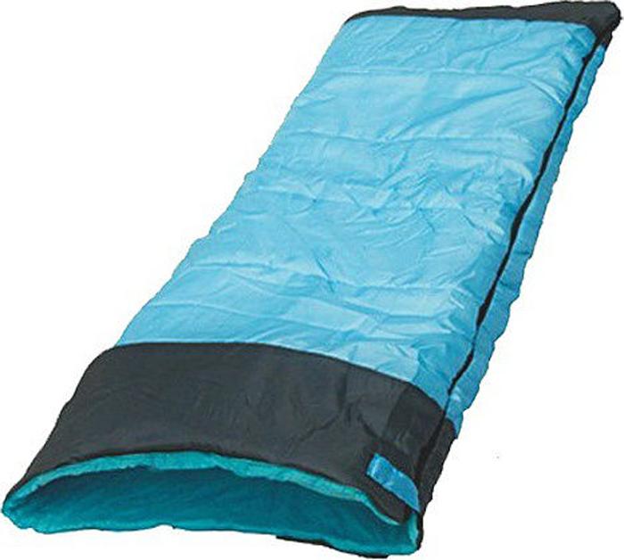 Спальный мешок Чайка, Standart 200, левосторонняя молния, голубой