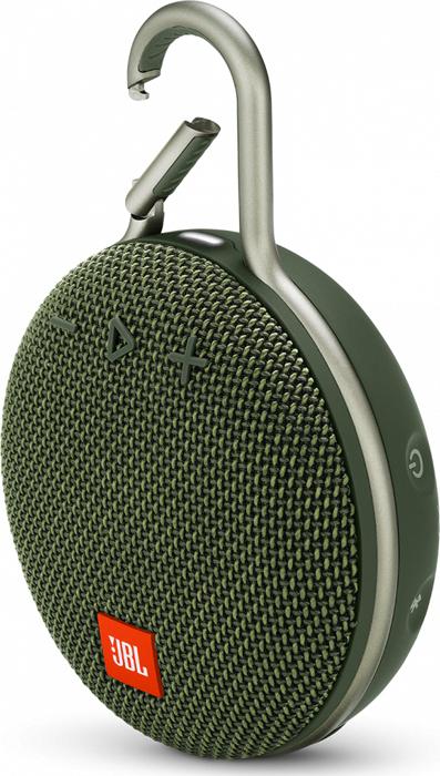 Портативная акустическая система JBL Clip 3 Green