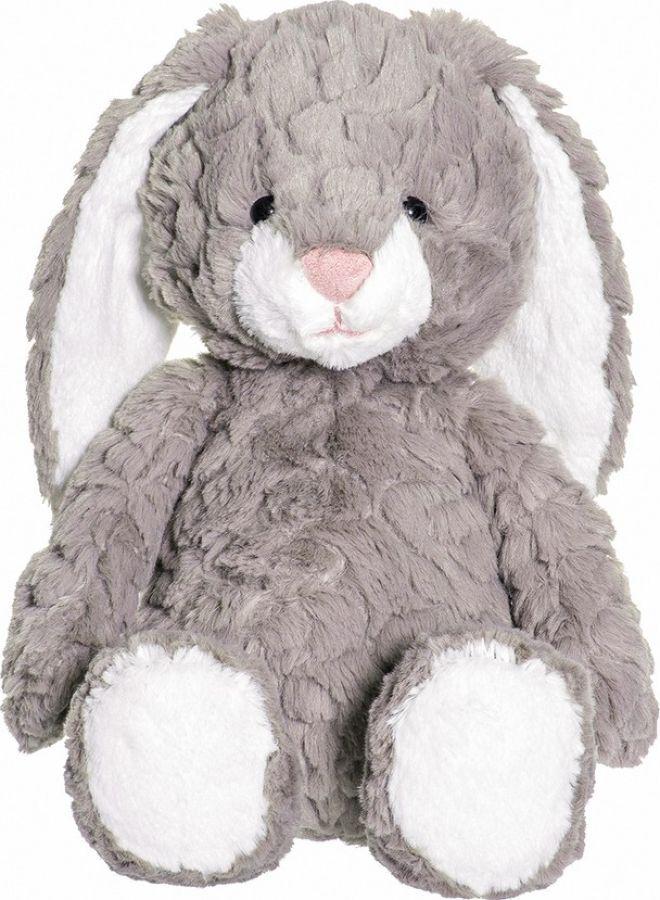 Мягкая игрушка Teddykompaniet Кролик Санни, серый, 23 см