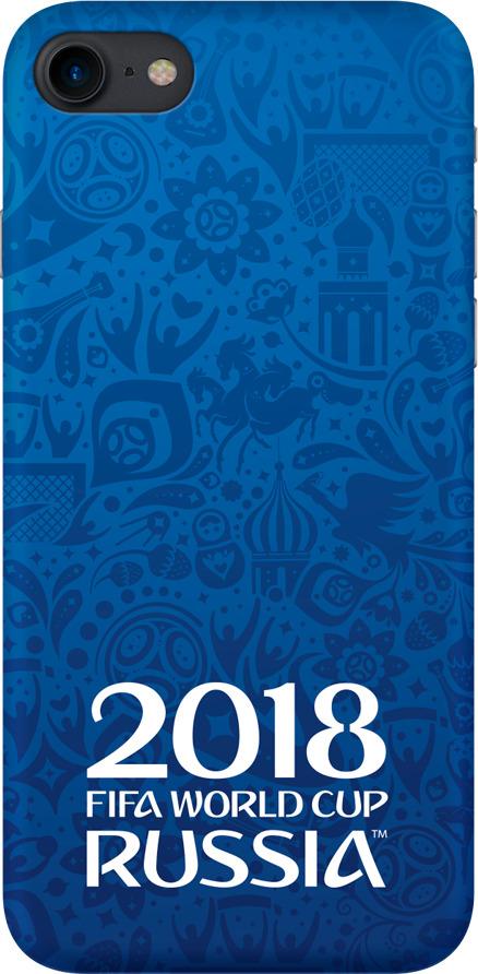Чехол TPU для Apple iPhone 7/8, FIFA Official Logotype blue, Deppa цена и фото