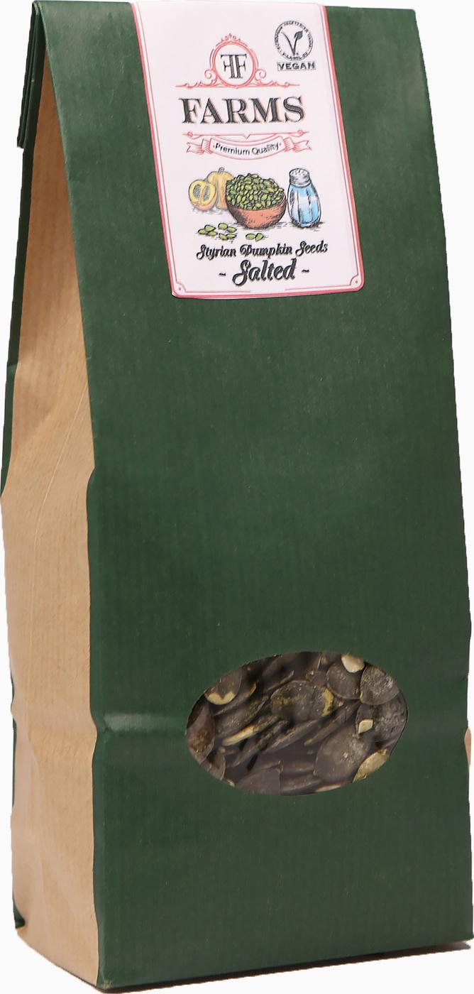 Штирийские тыквенные семечки соленые FF Farms, 300гр