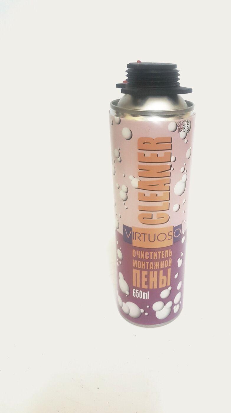 Фото - Очиститель монтажной пены VIRTUOSO CLEANER 500мл. [супермаркет] jingdong геб scybe фил приблизительно круглая чашка установлена в вертикальном положении стеклянной чашки 290мла 6 z