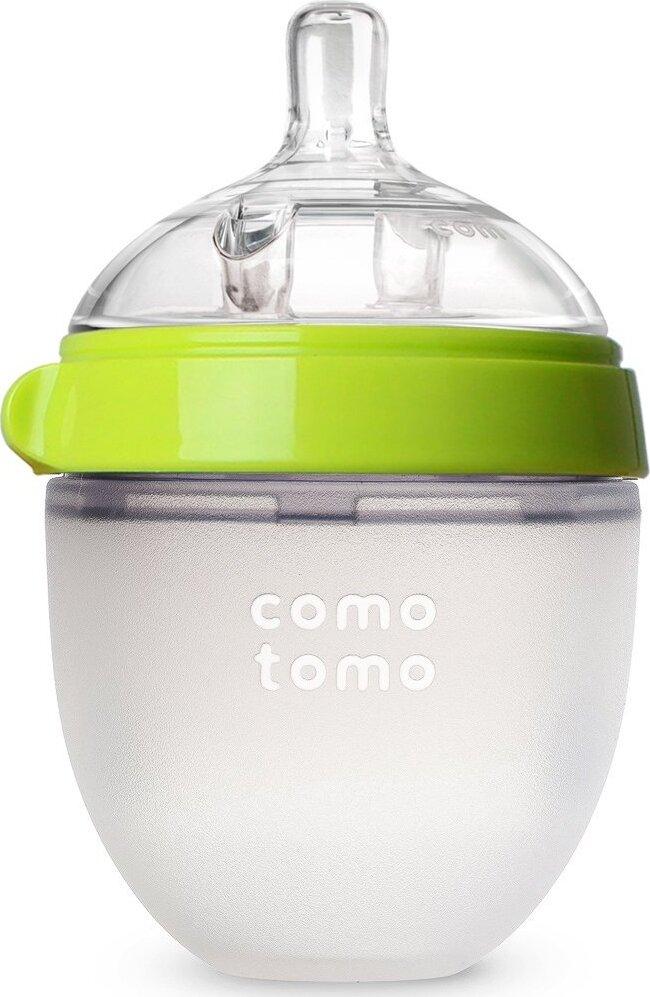 Comotomo Natural Feel Baby Bottle Бутылочка для кормления, зеленый 150 мл