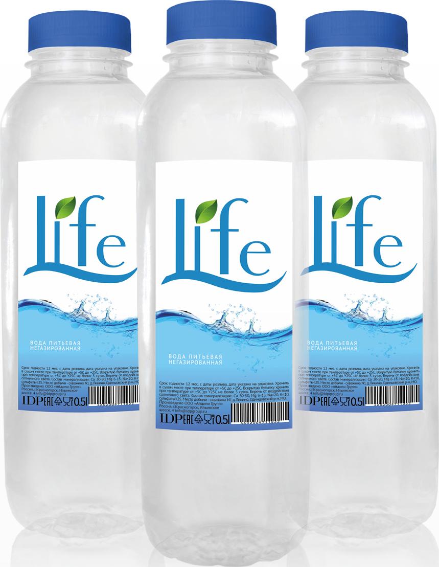 Вода LIFE (0,5л *12шт)