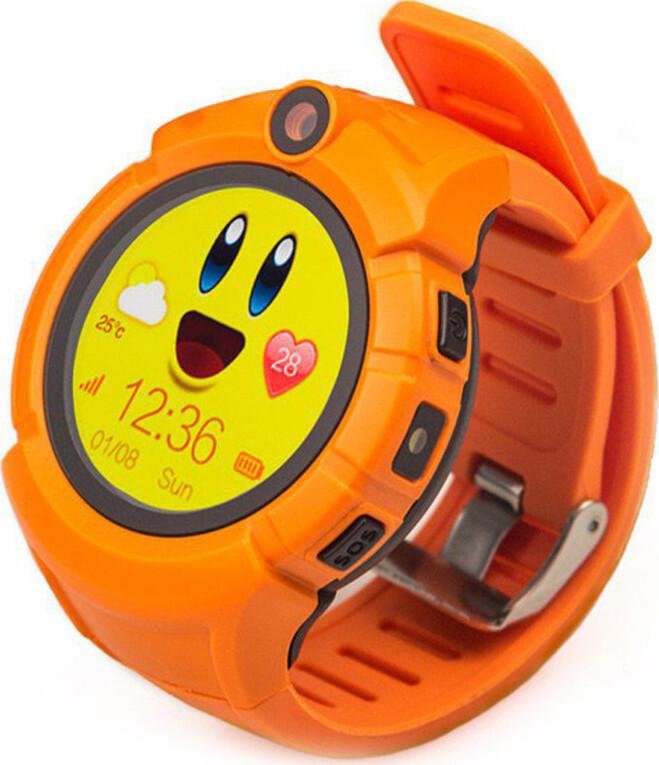 Часы Smart Baby Watch Q360 (Q610S) - Оранжевые