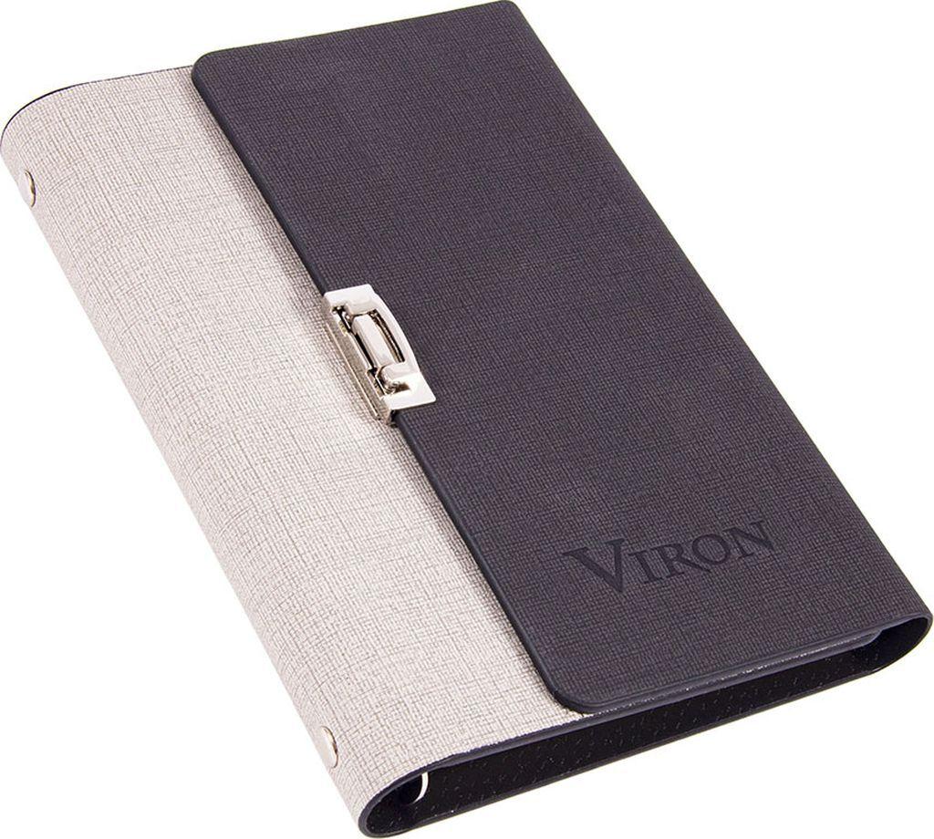 Ежедневник Viron, недатированный, 82732, серый, 80 листов