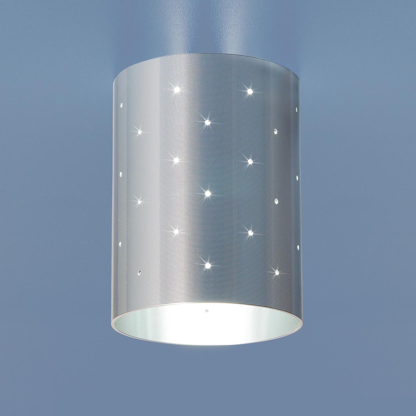 Встраиваемый светильник Elektrostandard Накладной потолочный 6072 MR16 CH, G5.3 эра c0043804 st3 ch mr16 12v 220v 50w хром