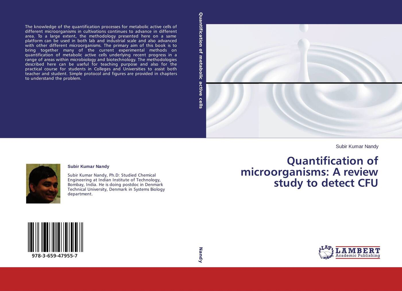 Subir Kumar Nandy Quantification of microorganisms: A review study to detect CFU modeling forest stands structures and biomass quantification