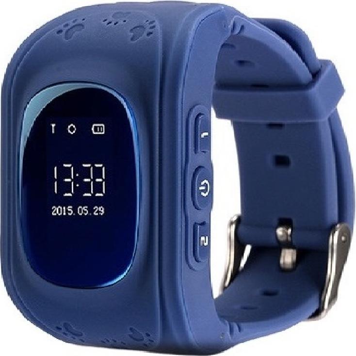 Детские GPS часы Nuobi Q50 (Синий) детские часы с gps wonlex gw700s красные