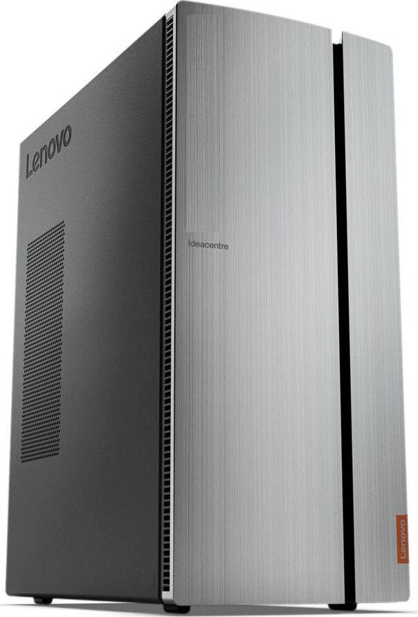 Системный блок Lenovo IdeaCentre 720-18APR, серебристый, черный