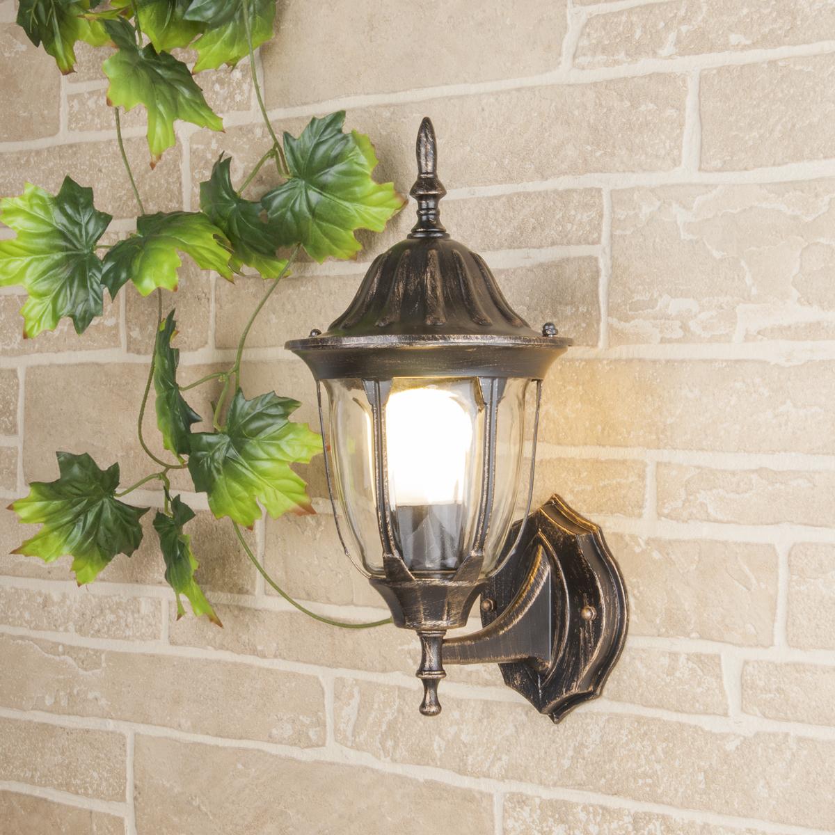 Садовое освещение Elektrostandard a033706, E27 садово парковый светильник elektrostandard virgo f 2 черное золото 4690389064883