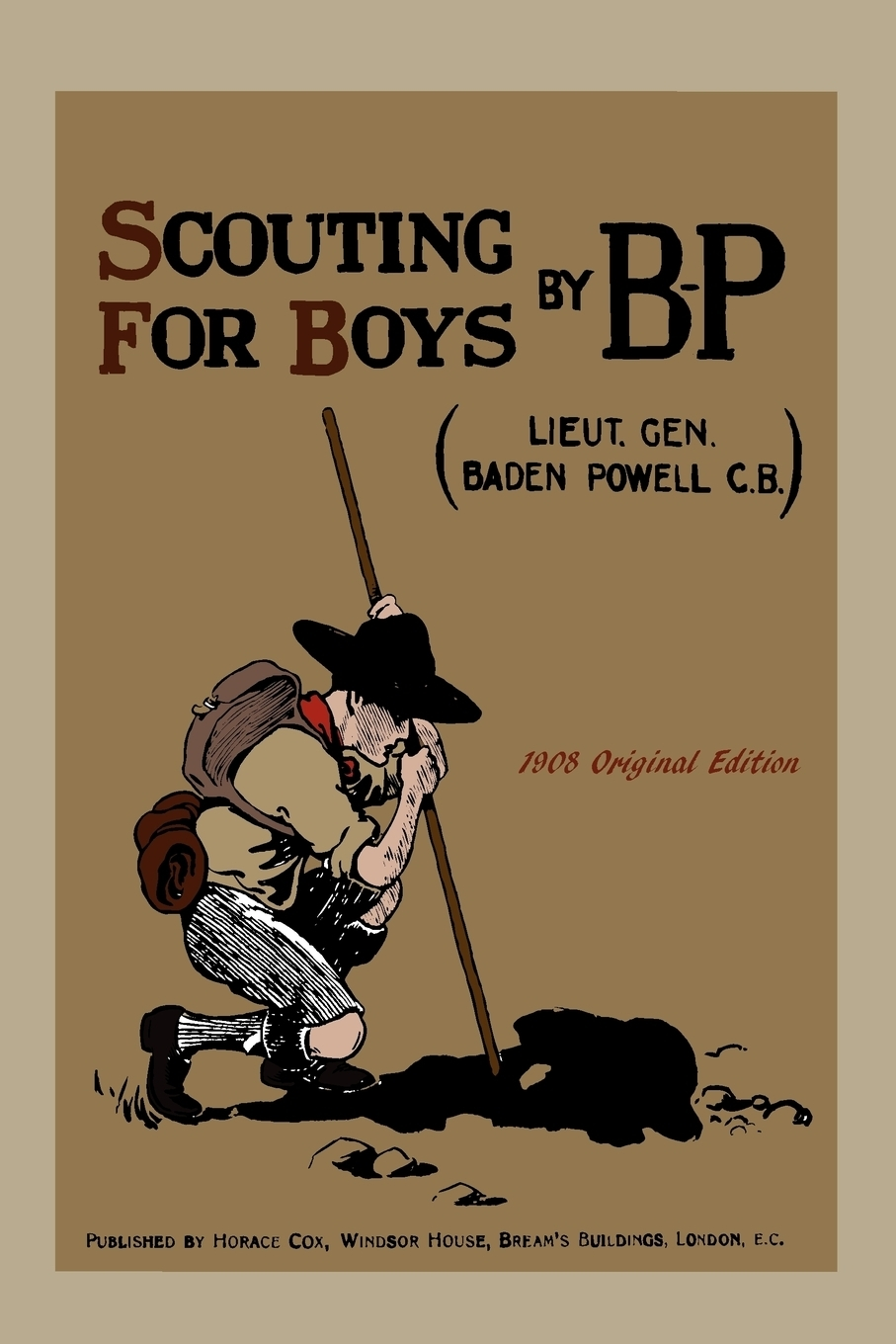 Книга Scouting  For  Boys. Robert Baden-Powell