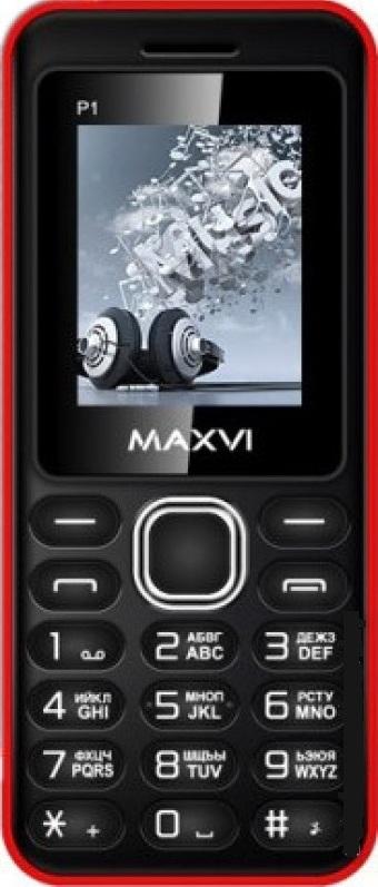 мобильный телефон maxvi p1, красный