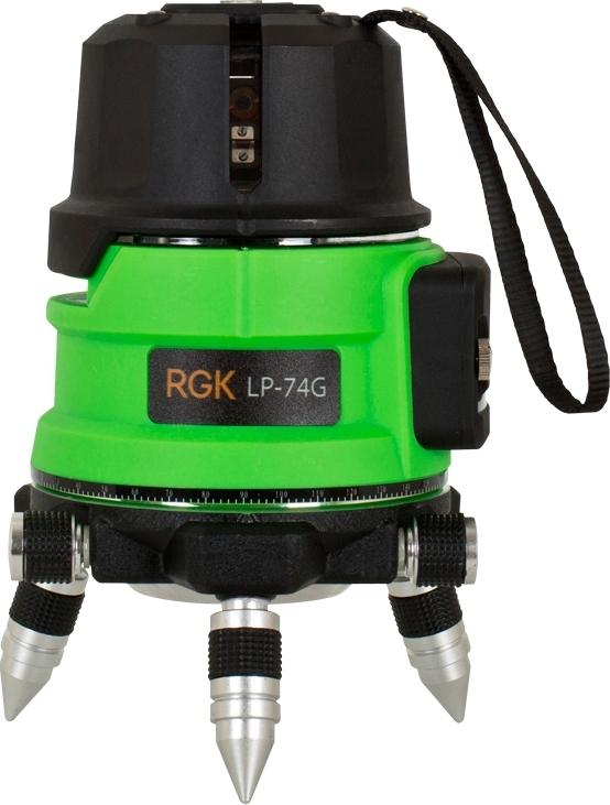 Уровень лазерный автоматический RGK LP-74G