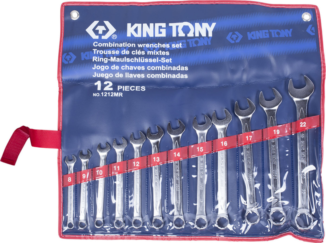 Набор ключей KING TONY 1212MR