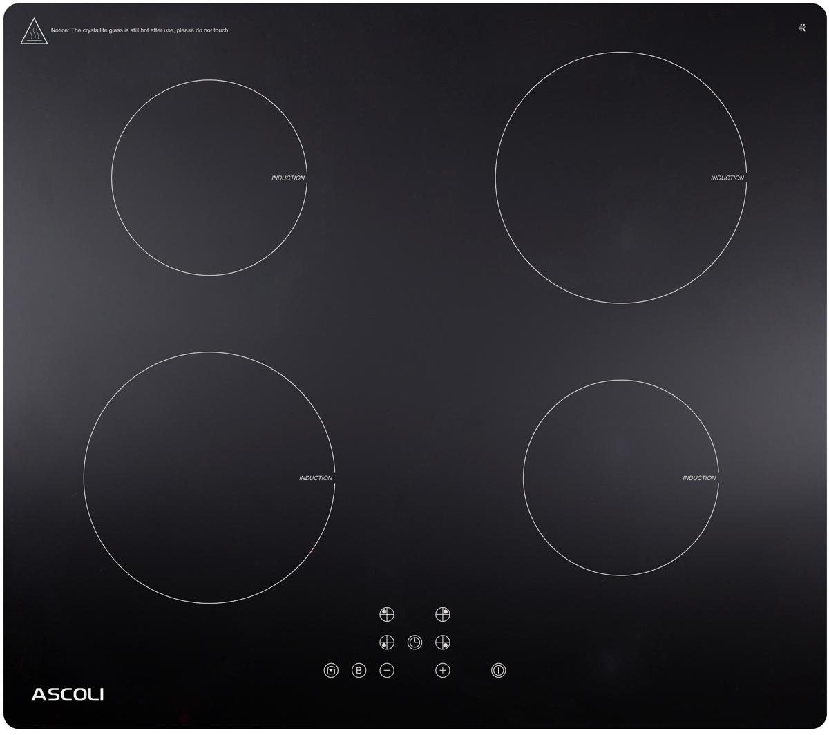 Варочная панель Ascoli HI604-32AB, черный Ascoli