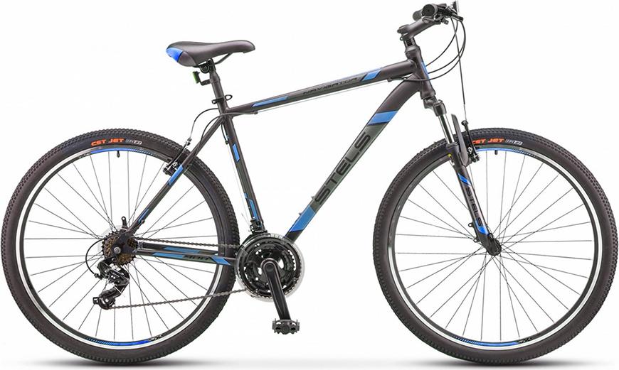 Велосипед Stels Navigator 900 V F010 Черный/синий 29 (LU092629), 21'