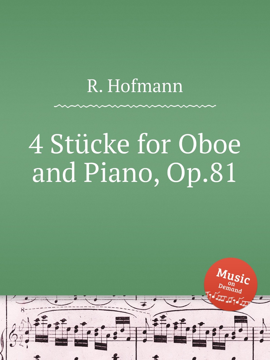 4 Stucke for Oboe and Piano, Op.81