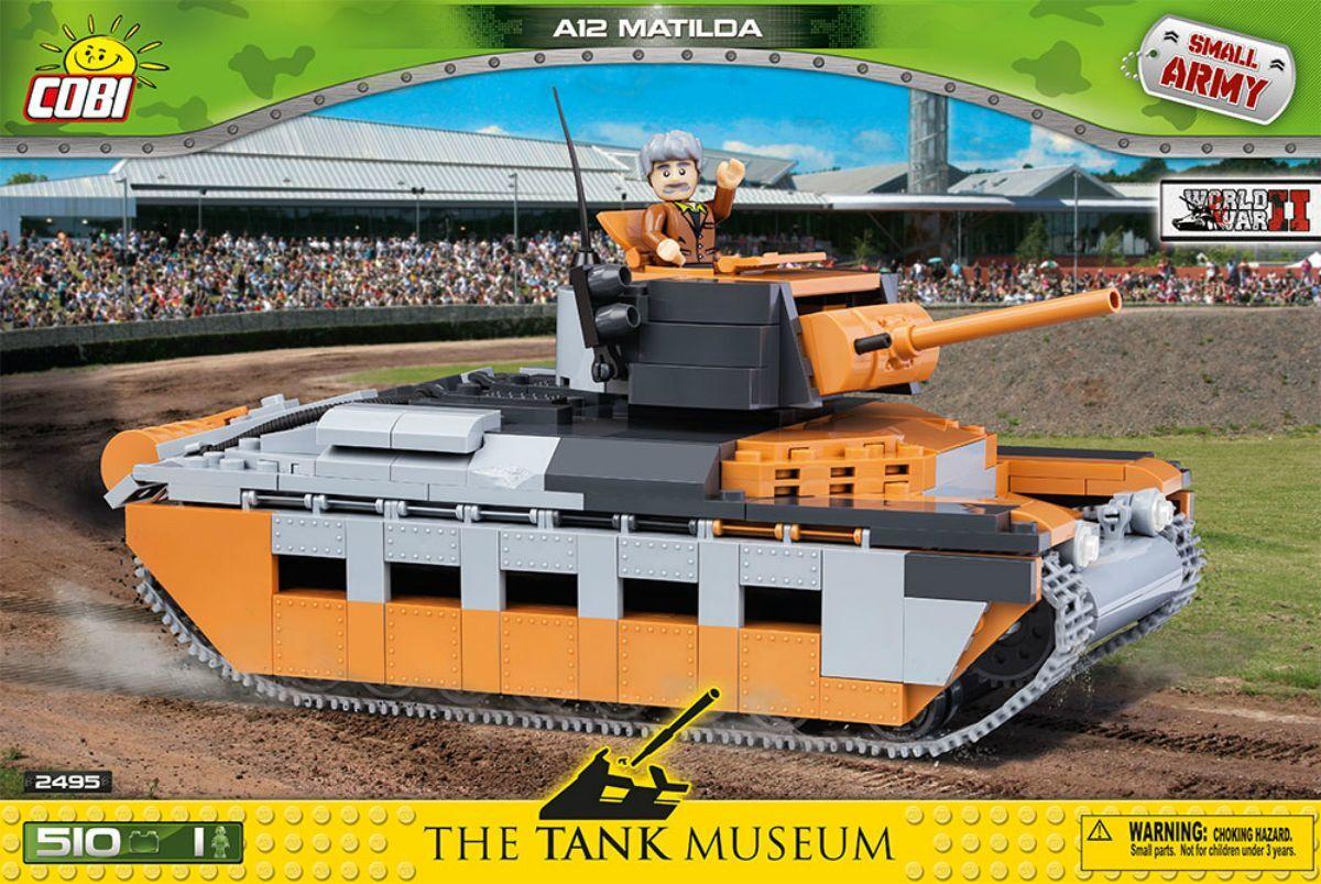 Конструктор Matilda Mk.II A12