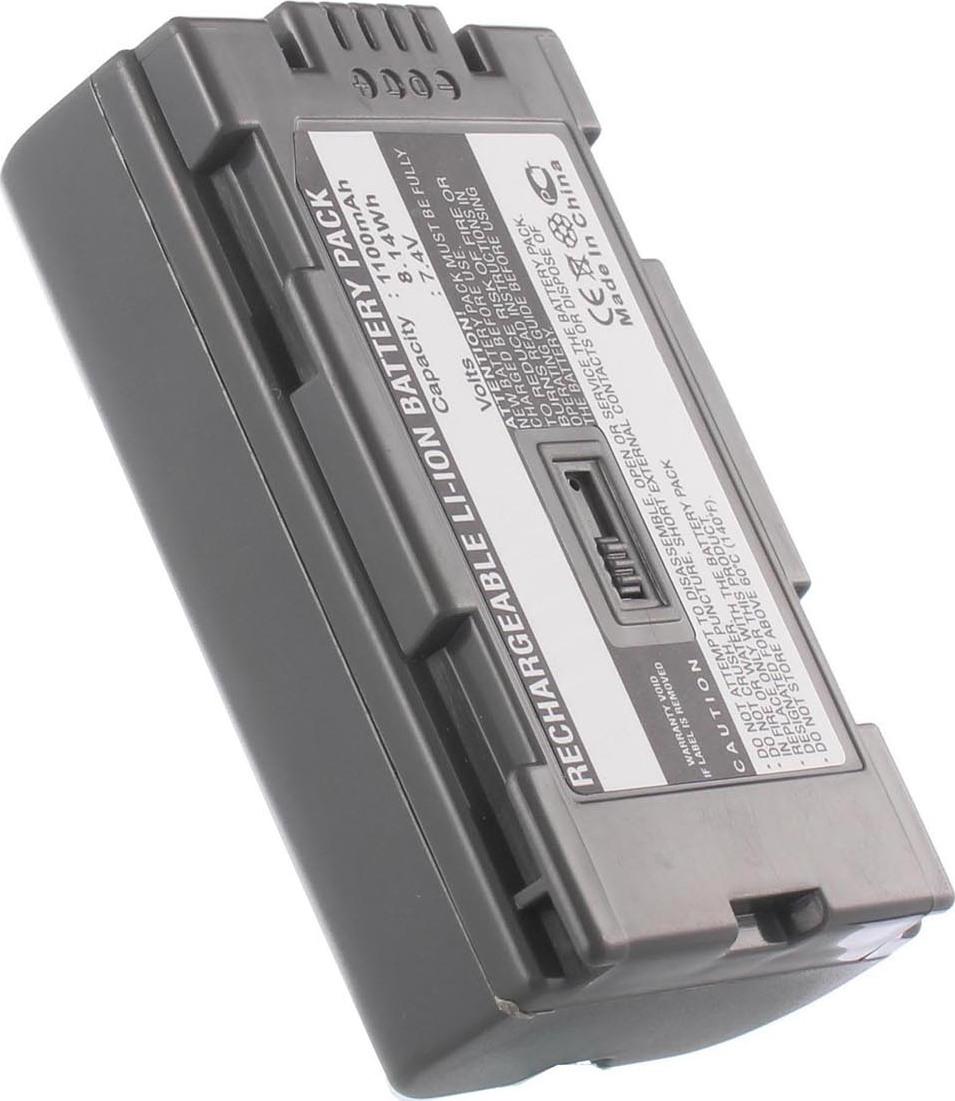 Аккумуляторная батарея iBatt iB-T1-F351 1050mAh для камер Hitachi DZ-MV208E, DZ-MV270, DZ-MV100, DZ-MV200E,  для Panasonic NV-GS15, NV-GX7, AG-DVX100BE, NV-DS60, NV-DS65, AG-HVX200, NV-MX500, AG-DVC30E, NV-DS30, NV-GS5, NV-MD9000, NV-DS28, NV-MX500EN,