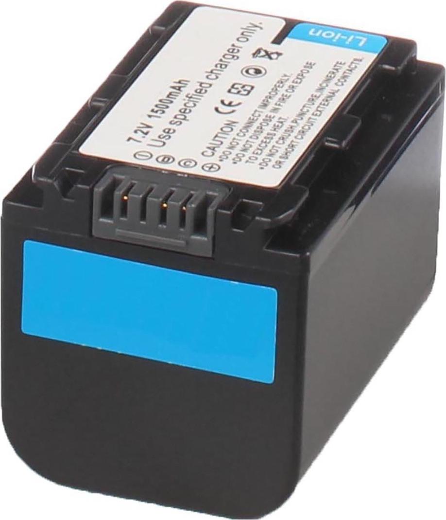 Аккумуляторная батарея iBatt iB-T5-F284 1300mAh для камер Sony DCR-HC52, DCR-HC38E, HDR-CX100, HDR-CX12, HDR-XR100E, DCR-DVD308, DCR-DVD650E, DCR-SR32E, HDR-HC7E, HDR-TG1E, DCR-DVD508, DCR-HC62, DCR-SR82E, HDR-SR5E, DCR-DVD910E, DCR-SR46E, DCR-DVD408,
