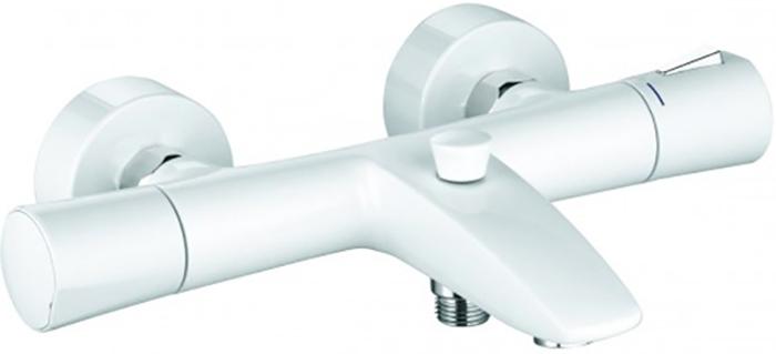 Термостат для ванны KLUDI Zenta с изливом, цвет белый / хром 351019138