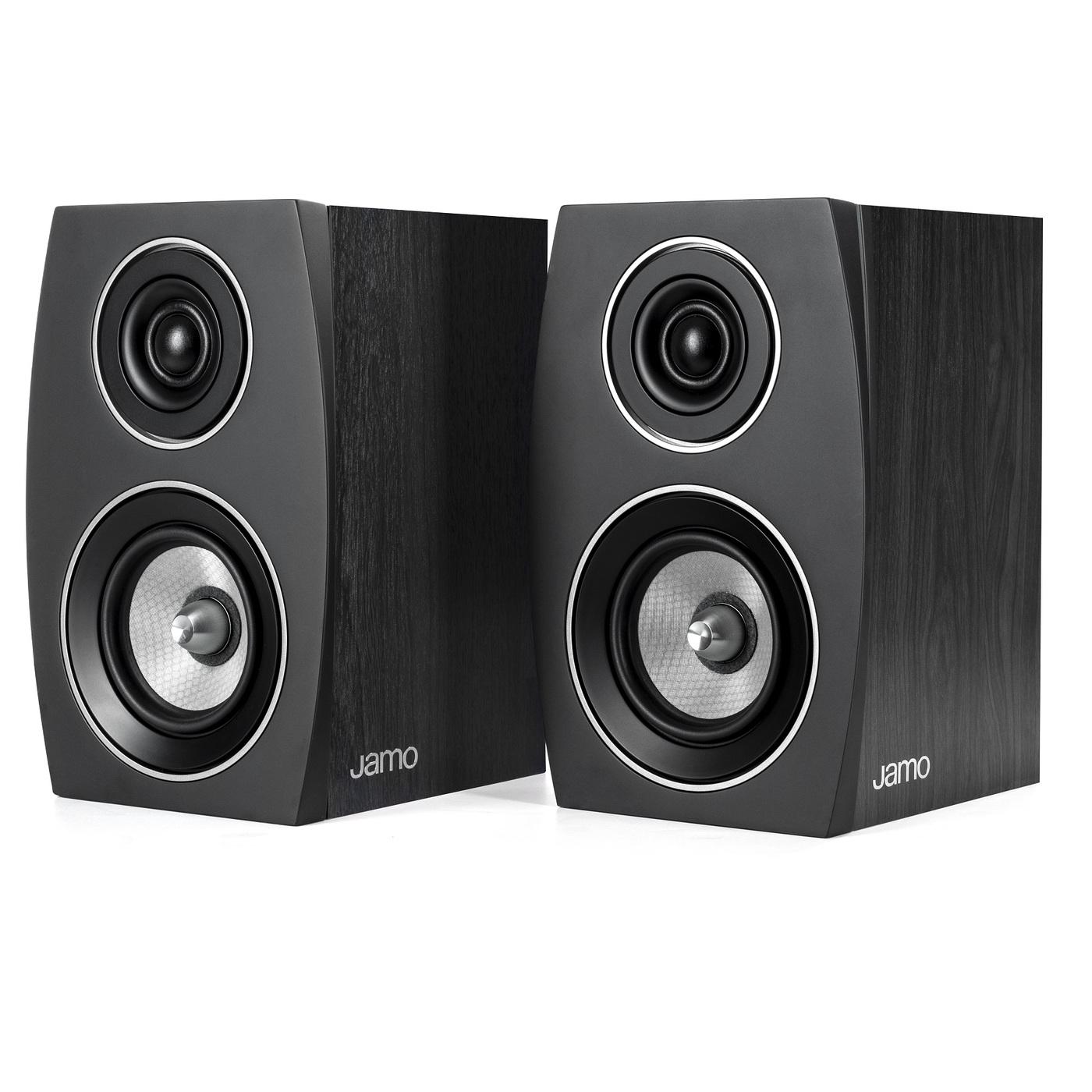 Полочная акустика Jamo C 91 II Black Ash