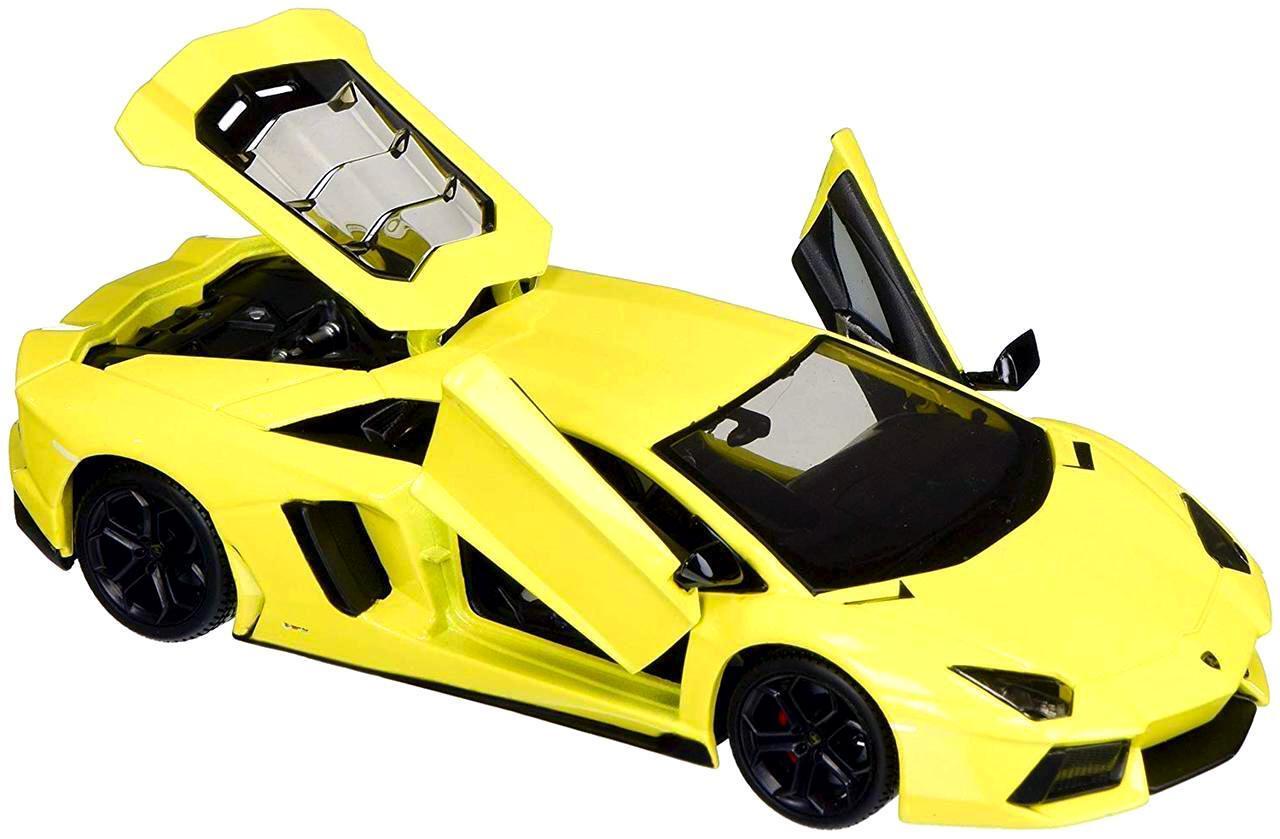 "Maisto ""Машинка жёлтая - Lamborghini Aventador LP700-4 1:24"""