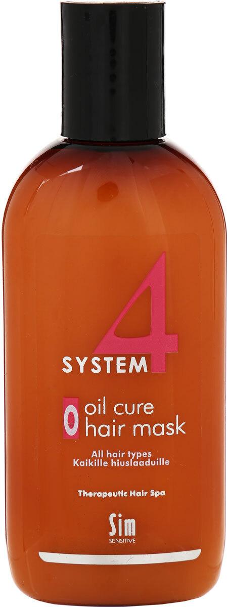 Sim Sensitive Терапевтическая маска О SYSTEM 4 Oil Cure Hair Mask O, 100 мл
