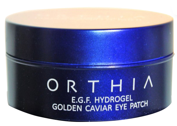 Гидрогелевые патчи для области вокруг глаз Orthia E.G.F Hydrogel Golden Caviar Eye Patch 90 мл