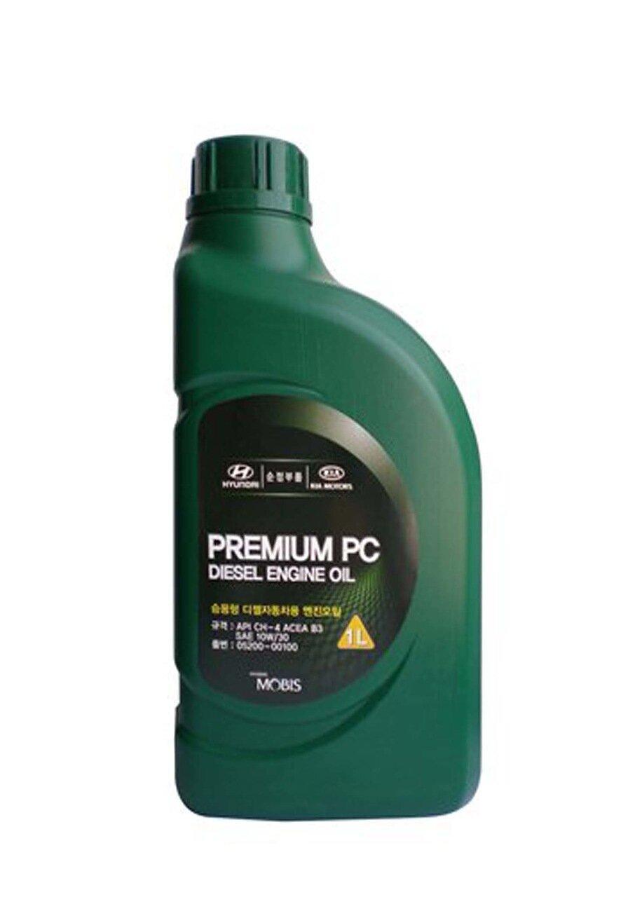 Моторное масло HYUNDAI Premium PC Diesel Engine Oil SAE 10W-30 CH-4 (1л)