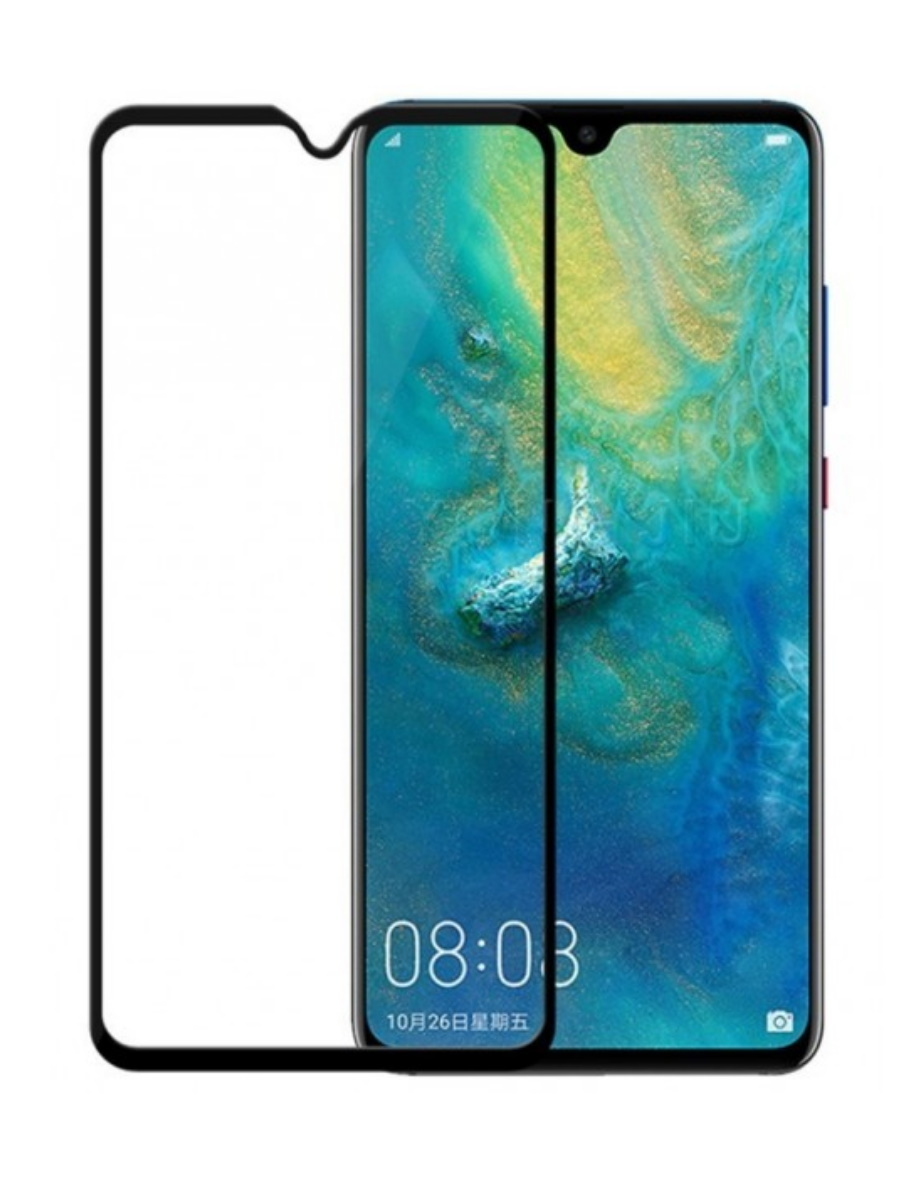 Защитное стекло Baseus 0.3mm Curved-screen Tempered Glass Screen Protector для Huawei Mate 20 X Black